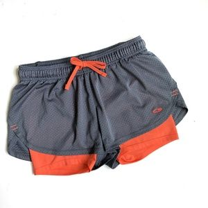 CHAMPION Mesh running Shorts Drawstrings Waist